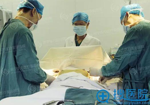 南宁东方整形医院假体丰胸手术过程图