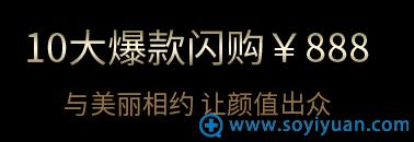 北京艺星10大项目闪购888元