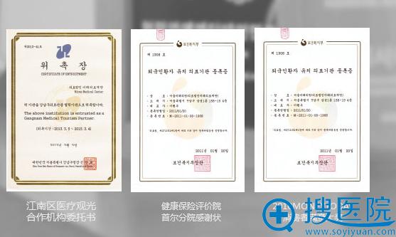 上海薇琳医疗美容医院资质荣誉