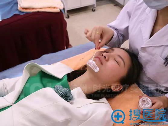 杭州时光注射玻尿酸前敷麻药