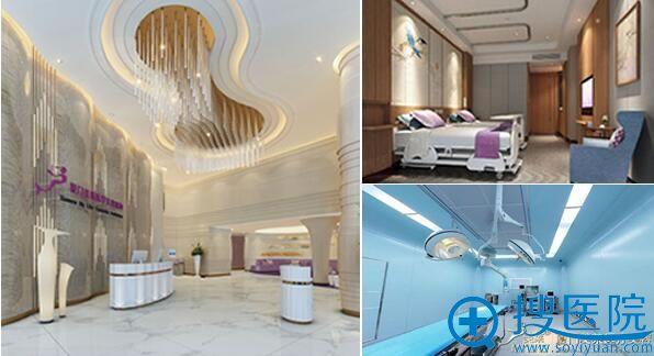 厦门美莱整形美容医院大厅、病房、手术室环境