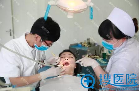 牙齿矫正前清理牙齿