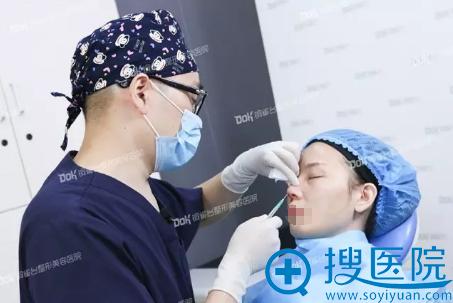 重庆铜雀台田鹏飞线雕隆鼻术麻醉