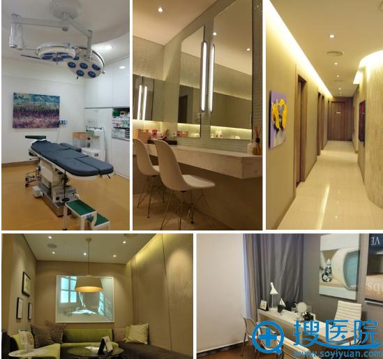 韩国清潭整形外科医院环境
