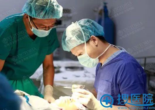 苏州维多利亚尹超切眉手术过程图