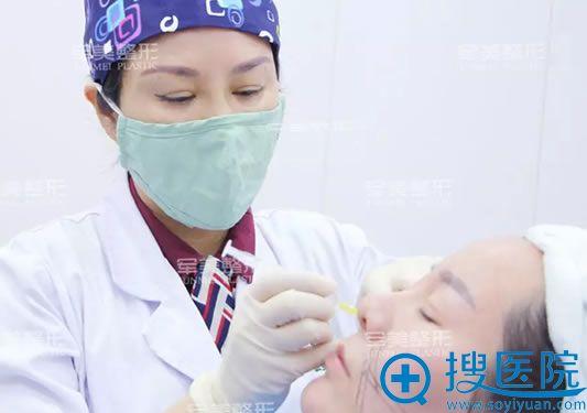 重庆军美面部线雕手术过程