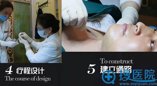 润美玉之光中胚层祛颈纹过程