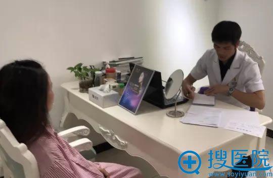 珠海九龙梁富荣院长接受咨询