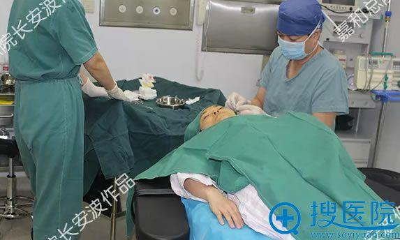 嘉和百旺面部线雕手术过程