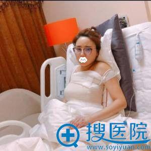 西安美莱王鹏假体隆胸术后3天