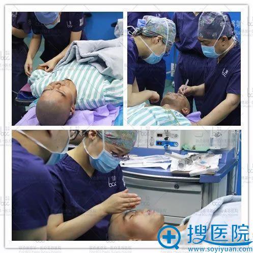 郭树忠和师俊莉鼻再造手术过程