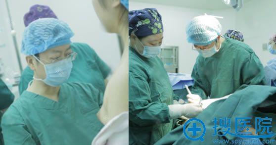 北京丽都高超做假体隆胸手术过程