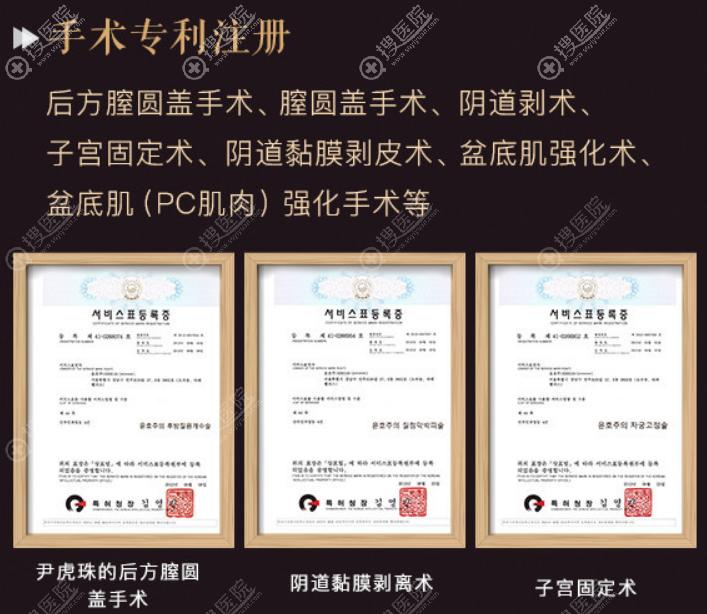 后方膣圆盖术专项核心技术证书