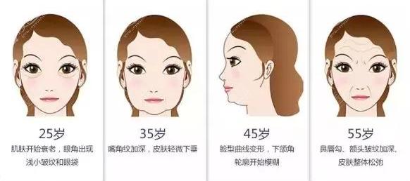 皮肤衰老状态